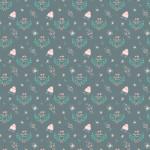 Esküvői minta zöld alapon design egyedi szublimált textil méteráruhoz