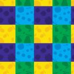 Gyümölcs játék design egyedi szublimált textil méteráruhoz