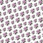 Rózsacsokor design egyedi szublimált textil méteráruhoz