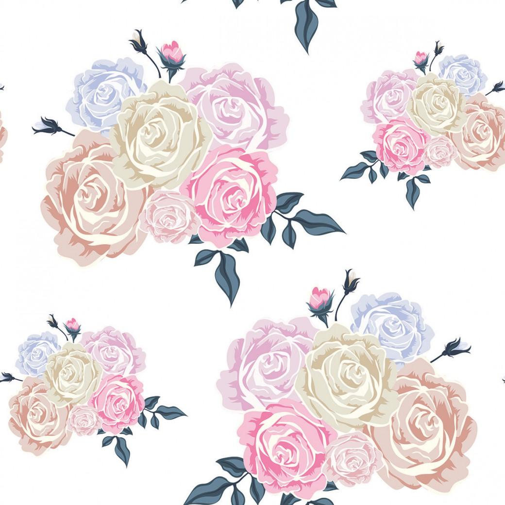 Festett rózsák design egyedi szublimált textil méteráruhoz