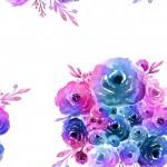 Festett csokor design egyedi szublimált textil méteráruhoz