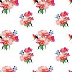 Tearózsa design egyedi szublimált textil méteráruhoz