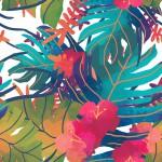 Dzsungel design egyedi szublimált textil méteráruhoz