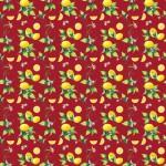 Leveles citrom bordón design egyedi szublimált textil méteráruhoz
