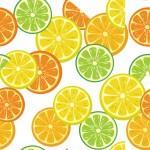 Vegyes citromszeletek design egyedi szublimált textil méteráruhoz