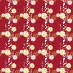 Bubis citrom bordón design egyedi szublimált textil méteráruhoz
