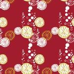 Bubis citrom bordon design egyedi szublimált textil méteráruhoz