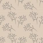 Faágak bézs szürke design egyedi szublimált textil méteráruhoz