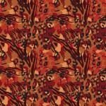 Pirosas állati foltok design egyedi szublimált textil méteráruhoz