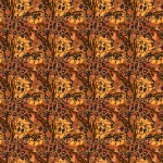 Barna állati foltok design egyedi szublimált textil méteráruhoz