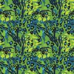 Kék zöld állati foltok design egyedi szublimált textil méteráruhoz