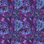 Vibráló állati foltok design egyedi szublimált textil méteráruhoz