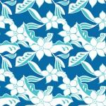 Kék rajzos virágok design egyedi szublimált textil méteráruhoz