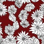 Krizantém 1 design egyedi szublimált textil méteráruhoz