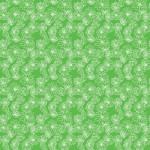 Rajzolt krizantém zöldön design egyedi szublimált textil méteráruhoz