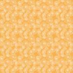 Rajzolt krizantém narancson design egyedi szublimált textil méteráruhoz