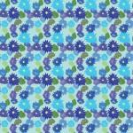 Krizantém 4 design egyedi szublimált textil méteráruhoz