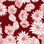 Krizantém bordón design egyedi szublimált textil méteráruhoz