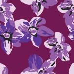 Lila virágszőnyeg design egyedi szublimált textil méteráruhoz