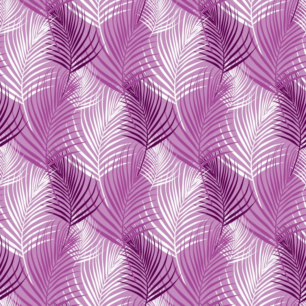 Lila pálma design egyedi szublimált textil méteráruhoz