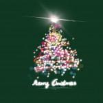 Karácsonyfa zöld design egyedi szublimált textil méteráruhoz