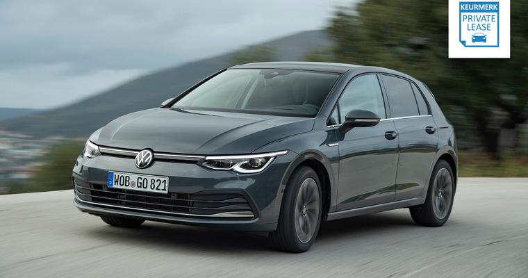 Nieuwe Volkswagen Golf Private Lease actie