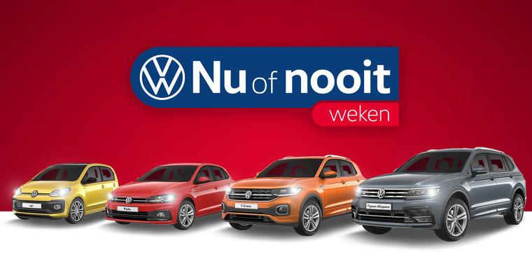 Volkswagen Nu of Nooit Weken bij Pon Dealer
