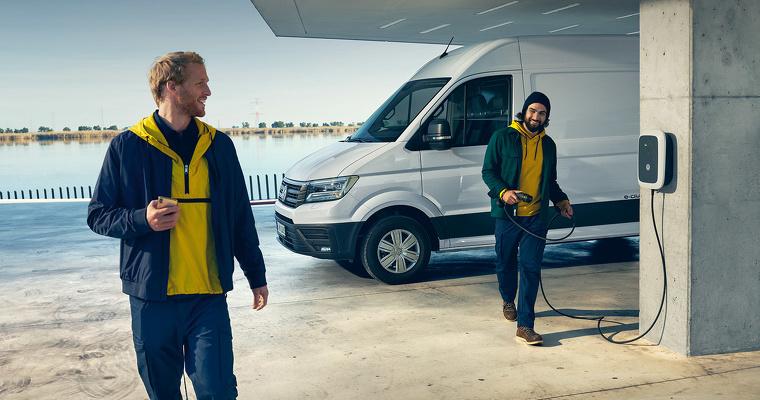 Volkswagen e-Crafter met duurzaamheidspremie