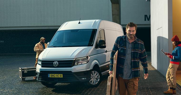Volkswagen Crafter Voordeel bij Pon Dealer