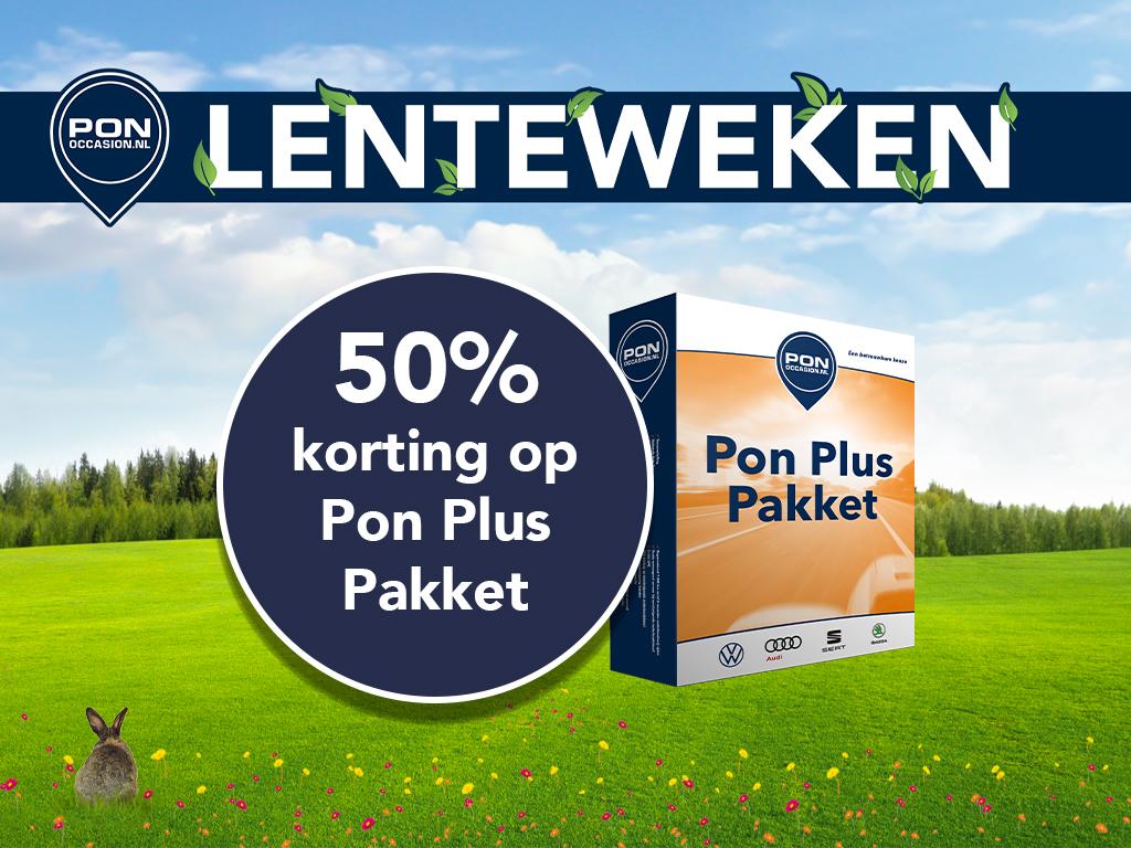 Pon Occasion Lenteweken - 50% korting op Pon Plus Pakket