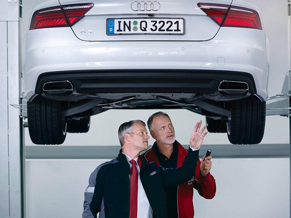 Audi grote beurt bij Pon Dealer