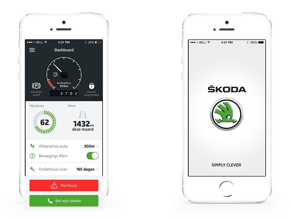 Mijn SKODA App