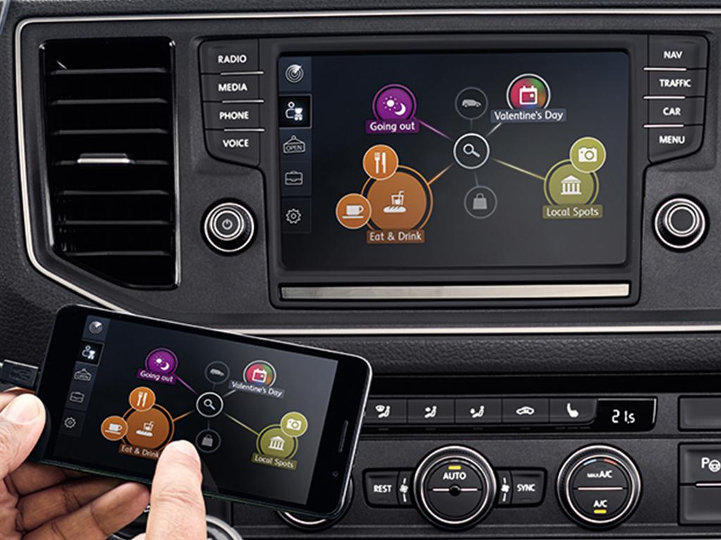 Volkswagen Bedrijfswagens CarNet