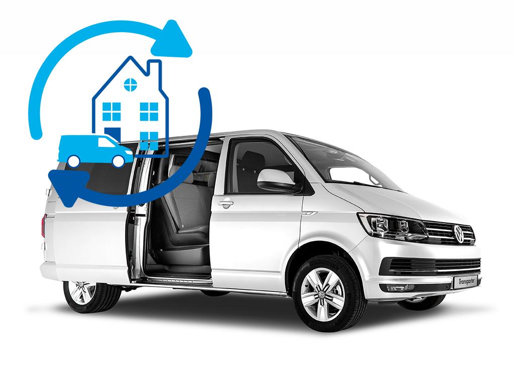 Volkswagen Bedrijfswagens Haal- en Brengservice