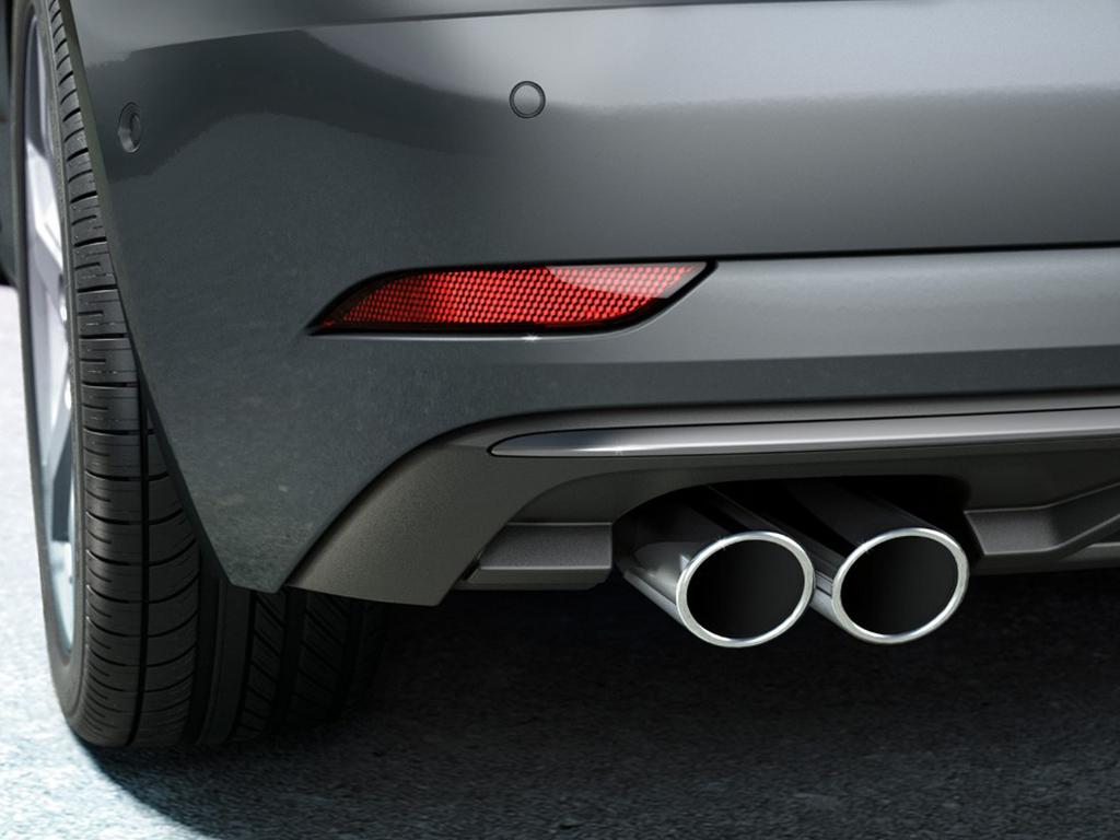 Audi A3 Cabriolet Uitlaatsierstukken