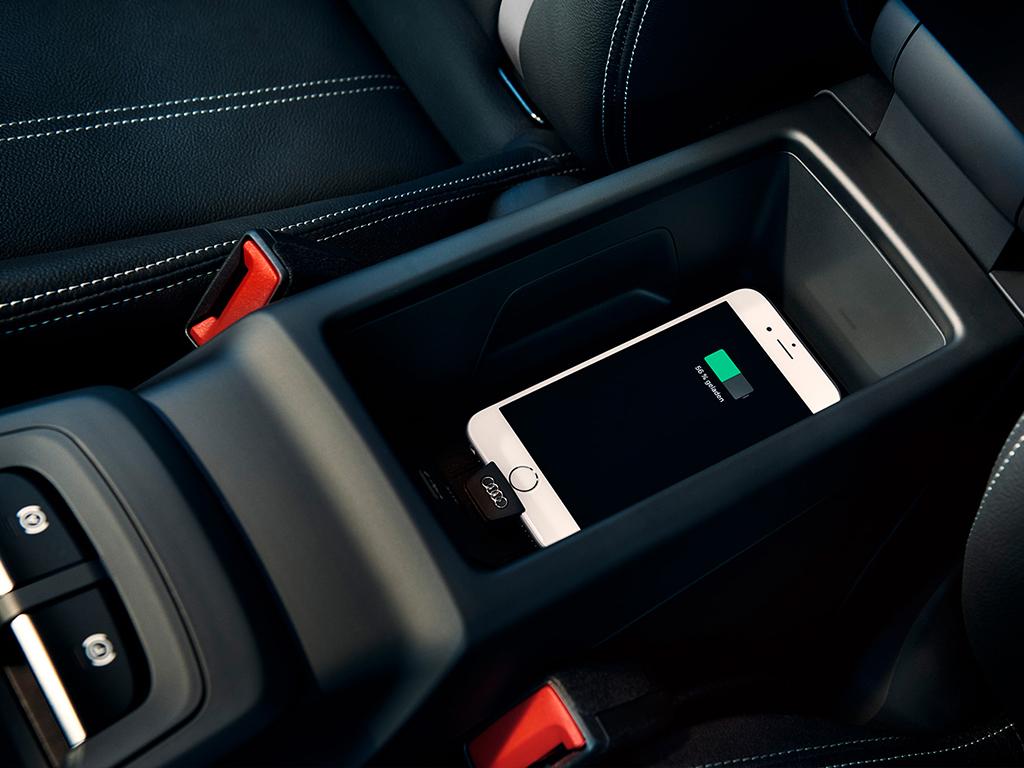 Audi Q2 Draadloos opladen