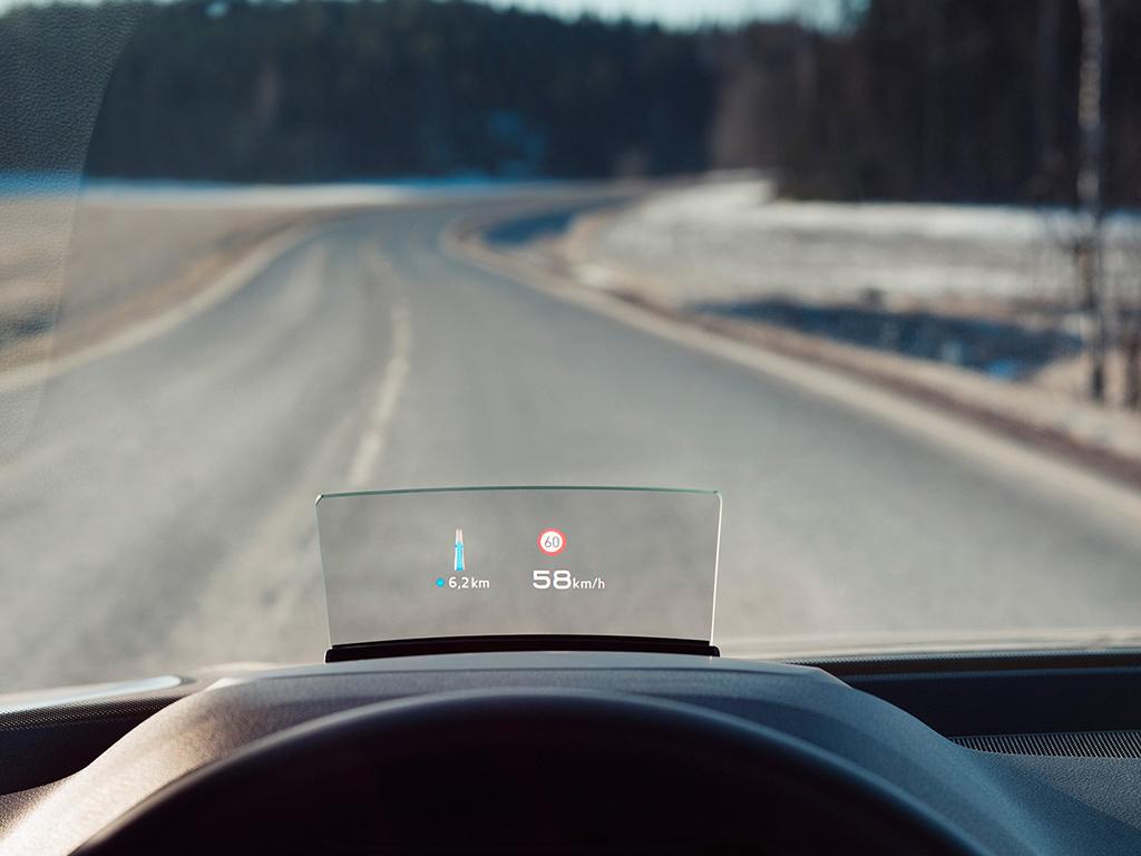Audi Q2 Head-up display
