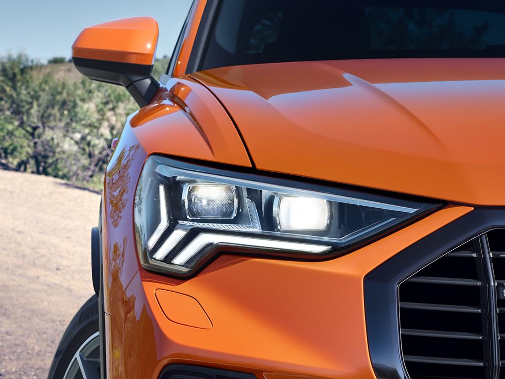 De nieuwe Audi Q3 - Matrix Led koplampen