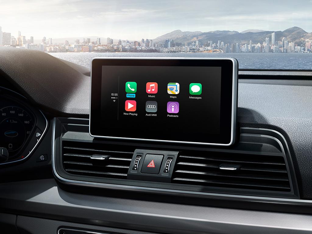 Audi Q5 Audi Smartphone Interface