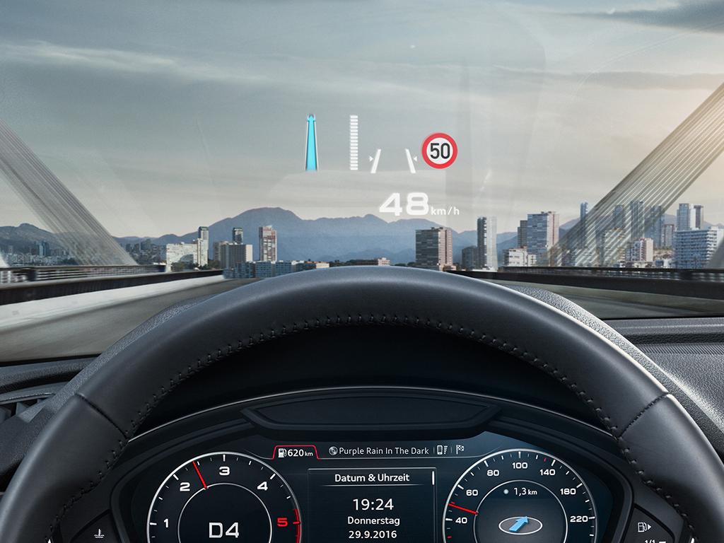 Audi Q5 Head-up Display