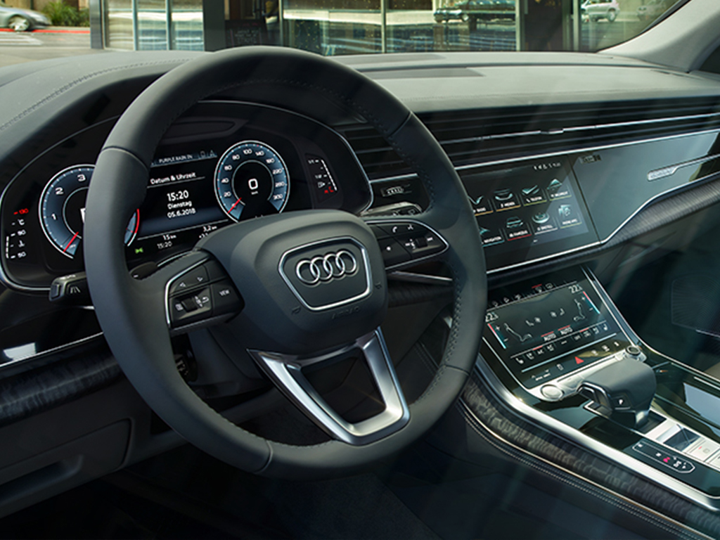 De Audi Q8 - MMI navigatie
