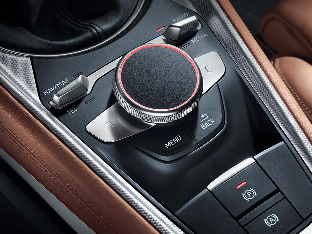 Audi TT Coupe - Audi Touchpad