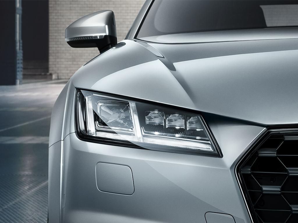 Audi TT Coupe - LED-matrix verlichting
