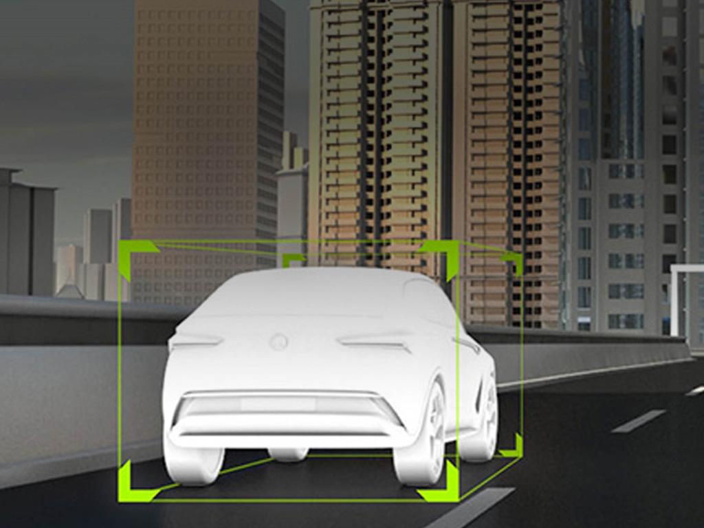 SKODA VISION E autonoom rijden