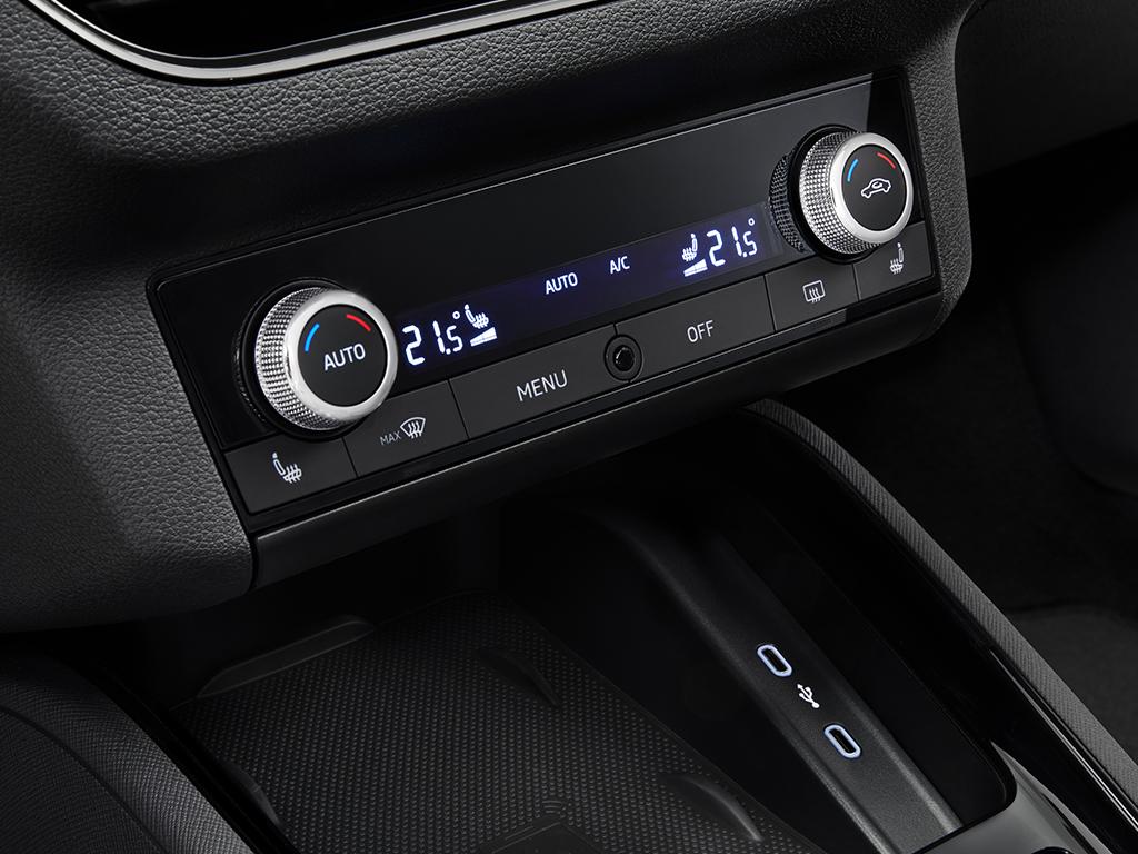 De nieuwe SKODA Kamiq - Automatische airconditioning