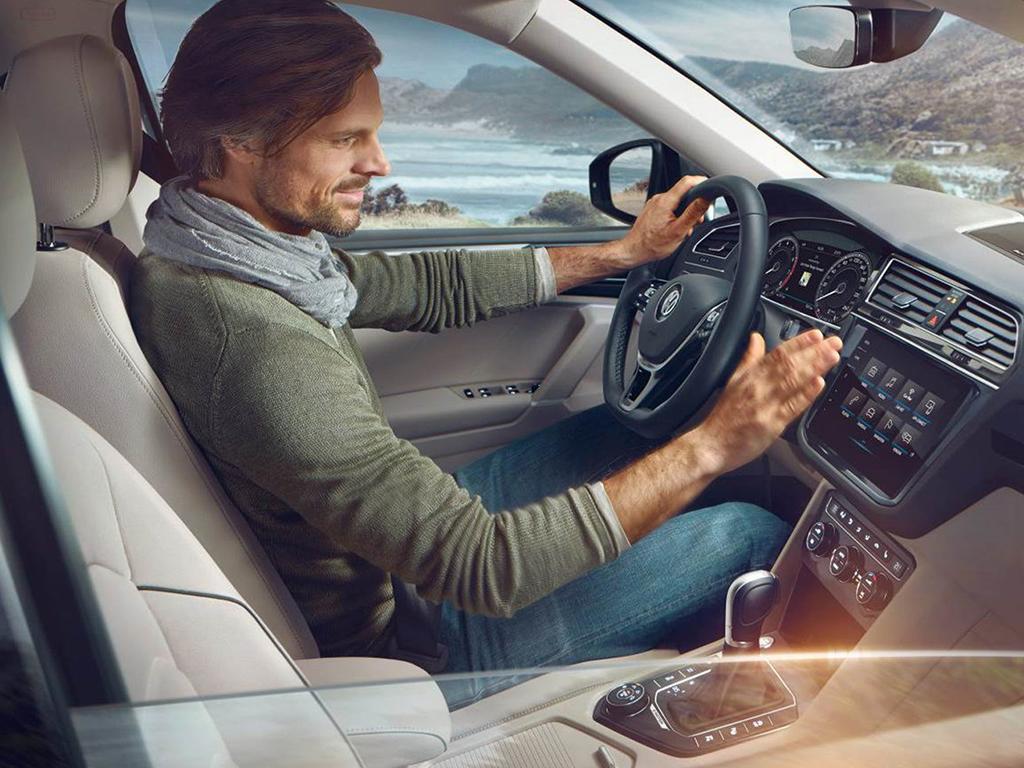 Volkswagen Tiguan Allspace Gesture Control