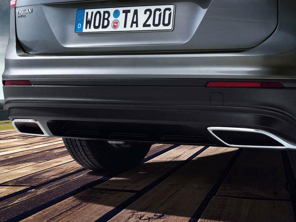 Volkswagen Tiguan Allspace Stijlvolle uitlaten