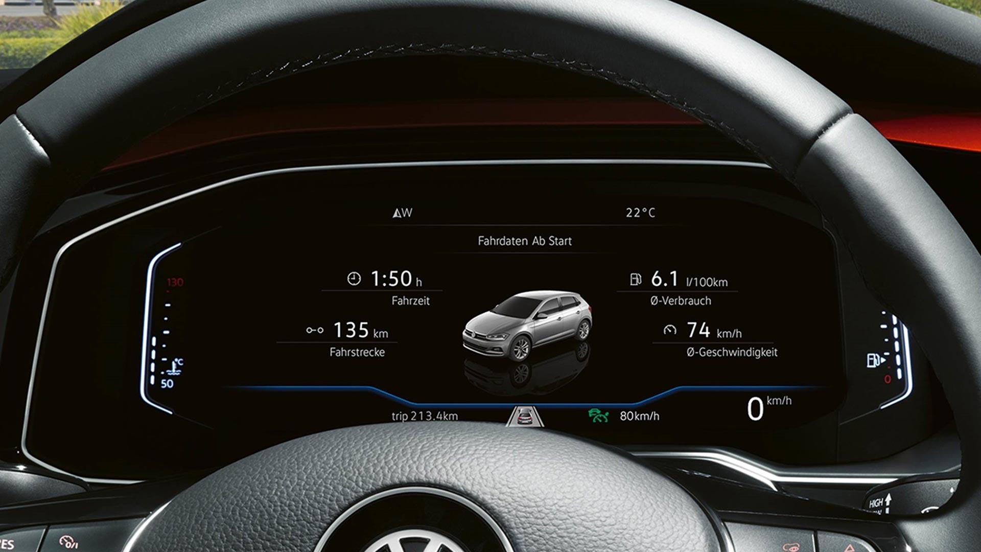 Volkswagen Polo Comfortline - Boordcomputer