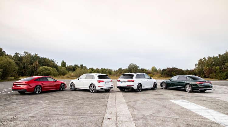 Audi's plug-in hybrid-initiatief 2