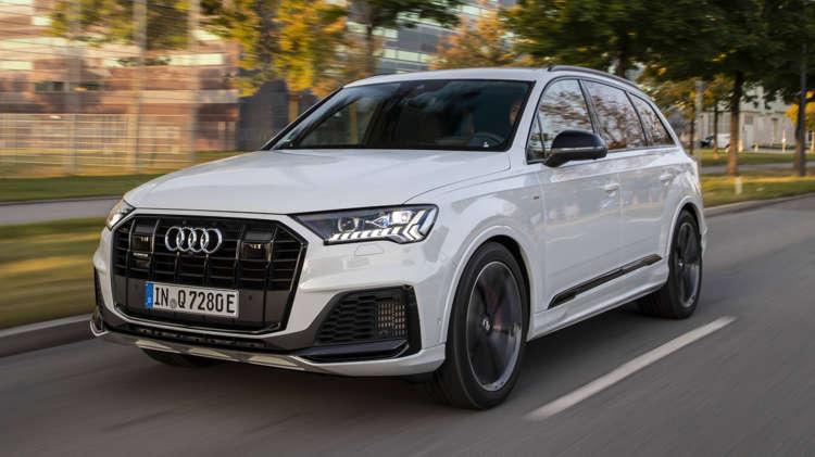 Audi Q7 plug-in hybrid vanaf € 85.000 1